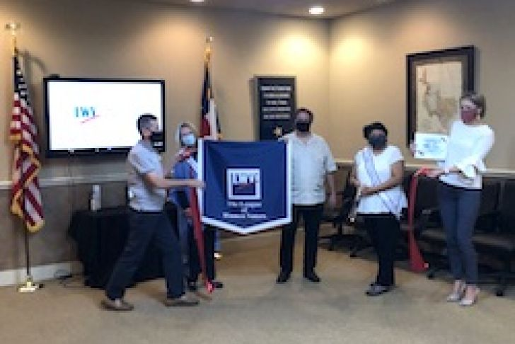 League of Women Voters - Hill Country Texas Ribbon Cutting Photo