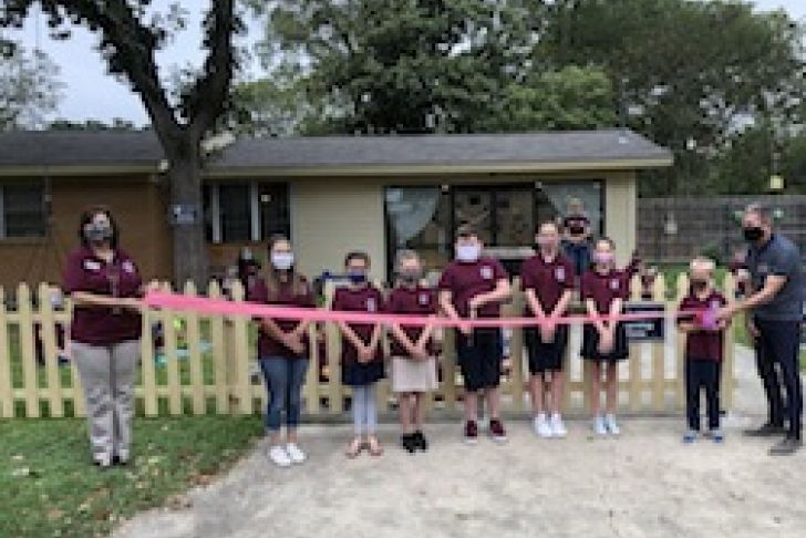 St. Helena's Episcopal Church and School's Ribbon Cutting Photo