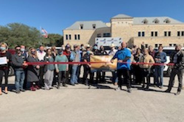 Hope for Heroes Boerne Ribbon Cutting Photo