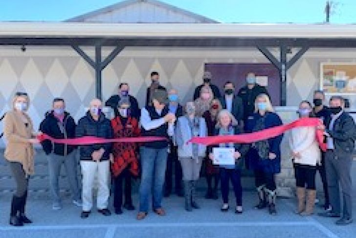 Boerne Community Theatre's 30 Year Anniversary Ribbon Cutting Photo