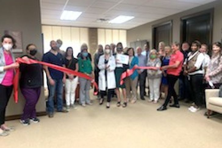 Dr. Ashley Sommerhalder Joins Cibolo Family Medicine Ribbon Cutting Photo